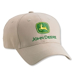 John Deere Value Khaki Twill Cap - LP27802