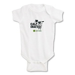 John Deere Infant Calf-inated Lap Shoulder Cotton Onesie - JD05348