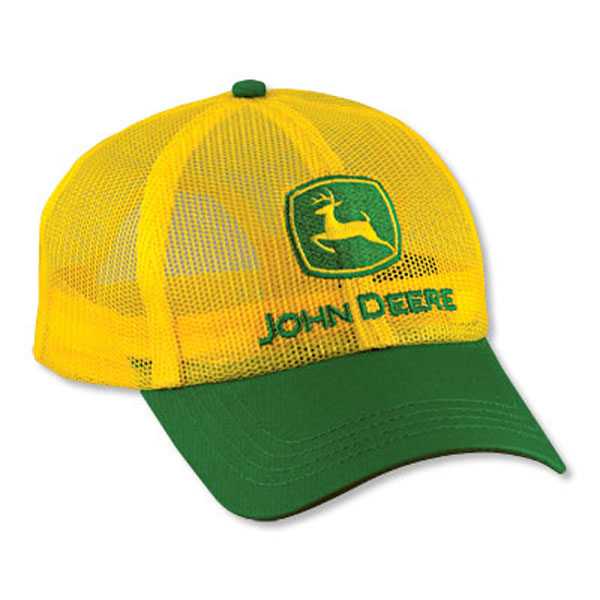 2b1282e07a3 John Deere Yellow Full Mesh Cap - LP14424