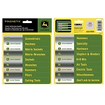 John Deere Toolbox Magnetix ID Label Set - 047004