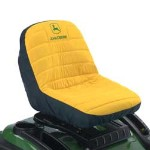 John Deere Lawn Mower or Gator 15-inch Seat Cover (Medium) - LP92324