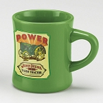 John Deere Power Green Stoneware Coffee Mug - LP25452