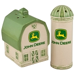 John Deere Barn & Silo Salt and Pepper Shaker Set - LP51458