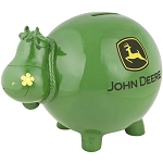 John Deere Cow Bank - 6915