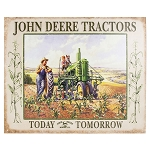John Deere Lunchtime Tin Sign - 6888