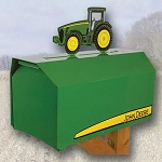 John Deere 8000 Series Tractor Heavy-Duty Estate Mailbox - EMB-JD8000