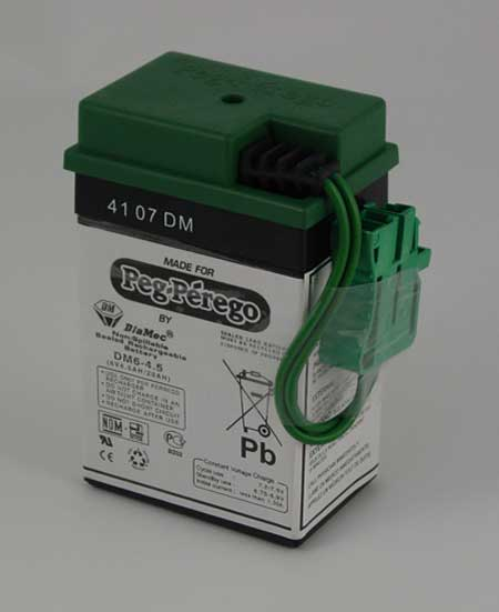 Rechargeable Battery for 6-Volt Battery Operated Vehicles