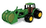 John Deere 8-inch 7220 Tractor with Bale Mover - 15813
