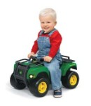 John Deere Sit N Scoot Buck ATV with Lights & Sound - 34986