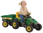 Parts for TBEK35620 John Deere 6-volt Battery Operated Animal Sounds Tractor with Cart