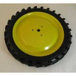 Rear Wheel and Tire Assembly (Idler) - TBE10039