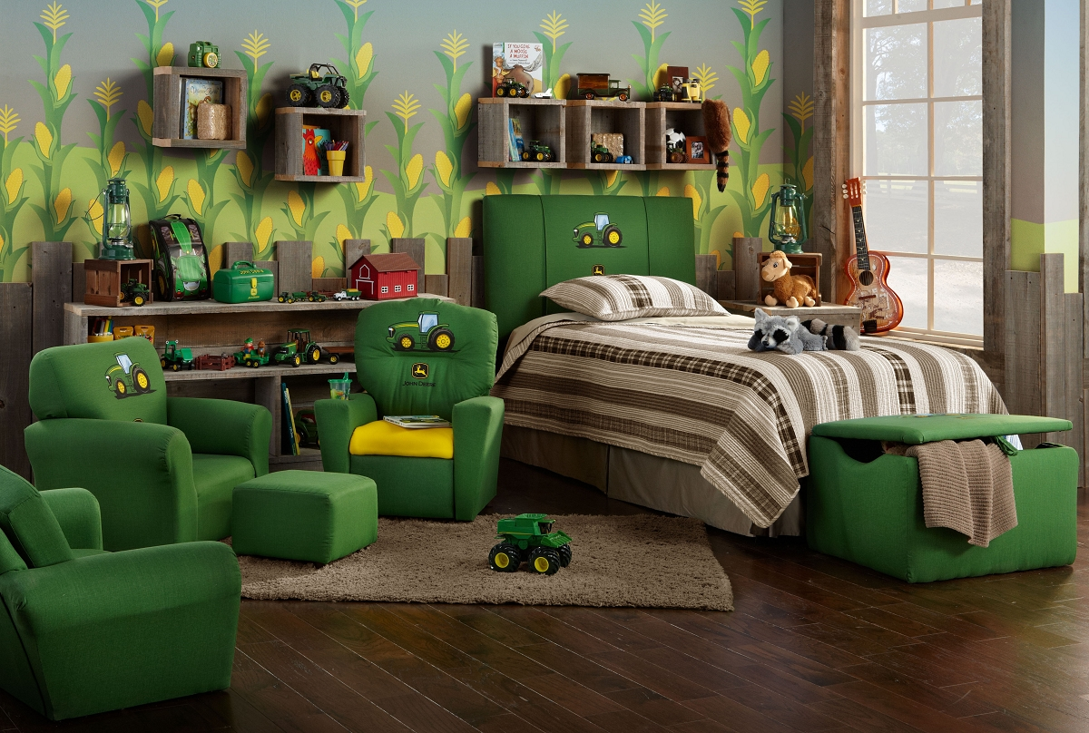 John Deere Green Kids Furniture