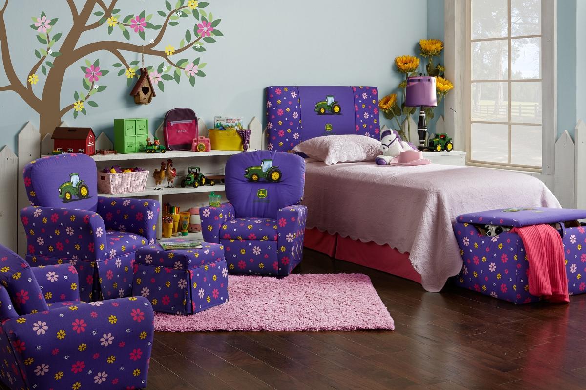 John Deere Ottoman : John deere kids furniture by kidz world