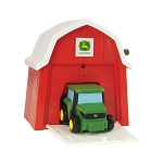John Deere Tractor In The Barn - TBEK46216