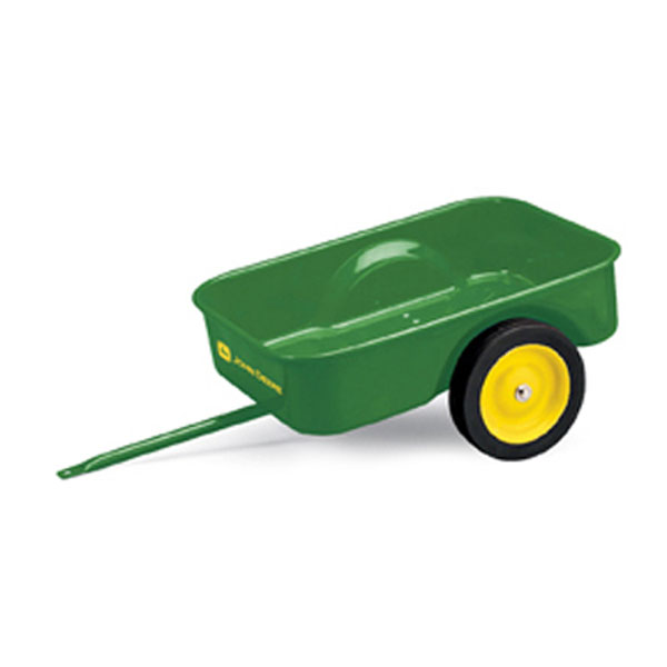 John Deere Kids Ride On Steel Pedal Tractor Trailer Ertl