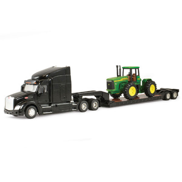 Tractor With Tanker : John deere scale peterbuilt semi truck with