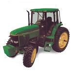 John Deere Precision Elite #4 7800 Replica Tractor - LP53309
