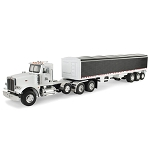 John Deere 1:16 scale Big Farm Peterbilt Model 367 Semi Truck with Grain Trailer Toy - 46406