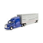John Deere 1:32 scale Semi Truck with Livestock Trailer Toy - LP53321