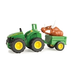 John Deere Monster Tread Rev Up Hauler Tractor - 37791A