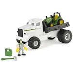John Deere Gear Force Hauler Truck Playset - 46371