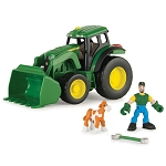 John Deere Gear Force Tractor Playset - 46372