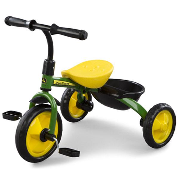 John Deere Green Steel Tricycle 46395