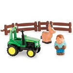 John Deere 1st Farming Fun Tractor Playset - LP64405