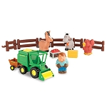 John Deere 1st Farming Fun Harvest Playset - LP64406