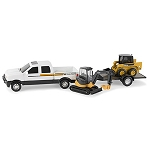 John Deere 8-inch Construction Equipment Set - 46626