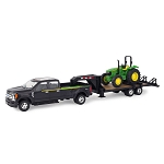 John Deere 1:32 scale Pickup Truck with Trailer and 5075E Tractor - 46630