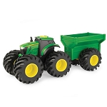 John Deere Monster Tread Tractor and Wagon Set - 46260C