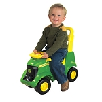 John Deere Sit N Scoot Activity Tractor with Sound and Figures - 35206