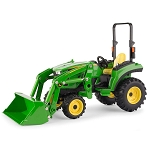 John Deere 1:16 scale 2038R Tractor with Loader - 45676