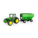 John Deere 1:16 scale Big Farm 7430 Tractor with Gravity Wagon - 47245