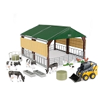 John Deere 1:32 scale Livestock Building with Accessories - 47250