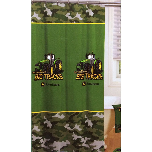 John Deere Tractor Shower Curtain Jf01520