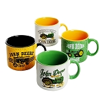 John Deere 4-Piece Tradition & Heritage 21.5-ounce Mug Set - LP72985