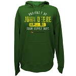 John Deere Property Green Heavy-Fleece Hoodie- 13020001GR