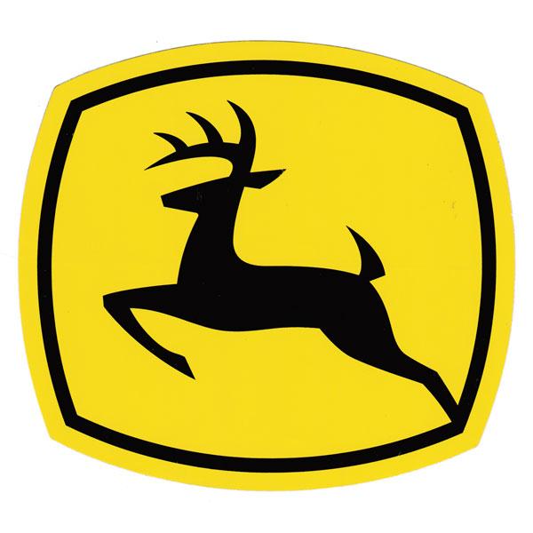 John Deere Leaping Deere 2000 Trademark Logo Decal 6.929-in x 6.299-in - JD5727  sc 1 st  GreenFunStore & John Deere Leaping Deere 2000 Trademark Logo Decal - JD5727