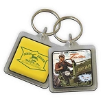 John Deere Picture & Logo Key Chain - 03503