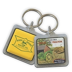 John Deere Vintage Photo Key Chain - LP10181