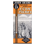 John Deere Retro Embossed Steel Wall Thermometer - LP53510