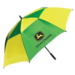John Deere Logo Vented Golf Umbrella - 13141