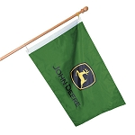 John Deere Double-Sided Trademark Flag - 15110
