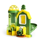 John Deere Rev Up Barnhouse Playset and Vehicle - 10595