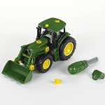 John Deere Buildable 1/24 scale Tractor Front Loader & Weight - LP66710