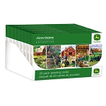 John Deere Everyday Greeting Card 20-pack - LP51675