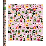 John Deere Pink Wrapping Paper - LP51678