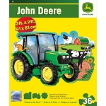 John Deere 36-Piece Shaped Floor Puzzle - 'Friends on Farm' - LP53799